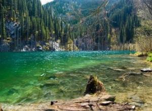 Kazakhstan pristine nature